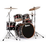 PREMIER Maple Shell Drum Kit Genista Series [Full Kit] - Premier Blaze Sparkle Lacquer - Drum Kit